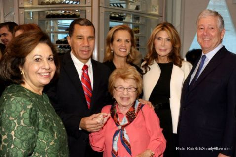 Last years Luncheon:  HRH Crown Prince Alexander and Crown Princess Katherine with New York Governor David Patterson and Dr. Ruth